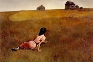 Andrew Wyleth se inspiró en los paisajes de Pensilvania.