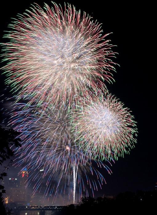 Estados Unidos celebra de punta a punta el Cuatro de Julio