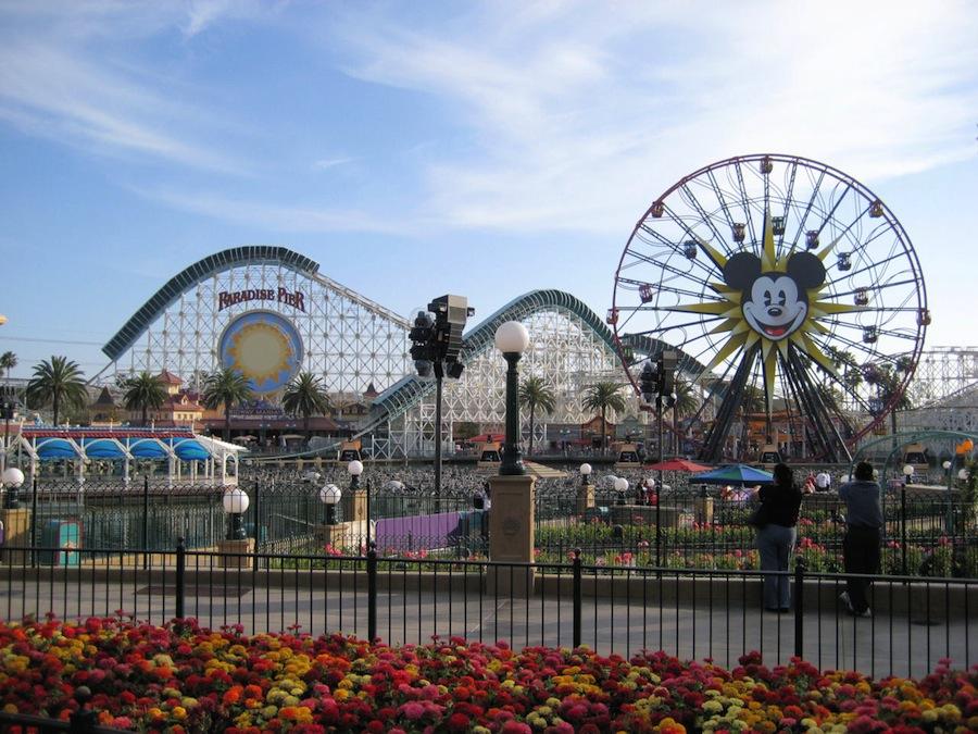 Parques de atracciones en California