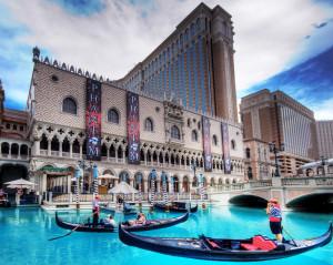 Resort veneciano en Las Vegas