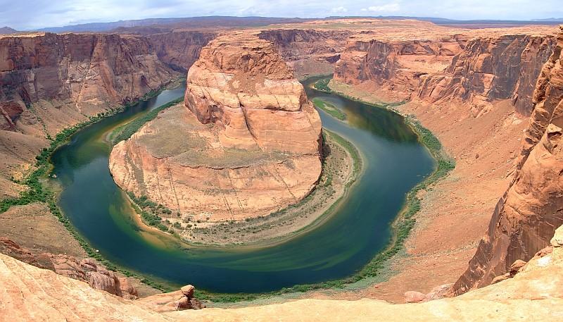Algunas zonas del Gran Cañón son ideales para el rafting