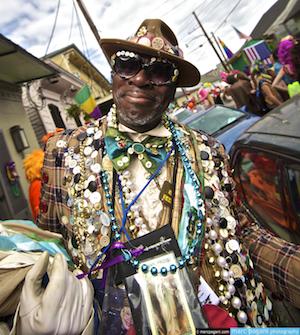 Nueva Orleans preparada para el carnaval