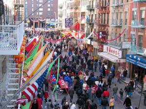 Distrito comercial alternativo en Chinatown